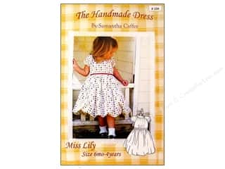 The Handmade Dress: Miss Lily Size 6M-4 Pattern