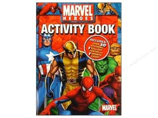 Sticker Activity &amp; Poster Marvel Heroes Book