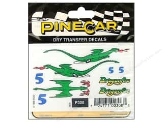 PineCar Decals Transfer Decals Dragonfire