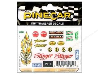 PineCar Decals Transfer Decals Stinger
