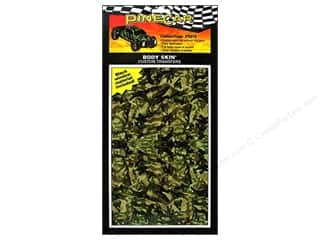 Pinecar Kits & Accessories Rub-On Transfers: PineCar Body Skin Transfer Body Skin Transfer Camouflage