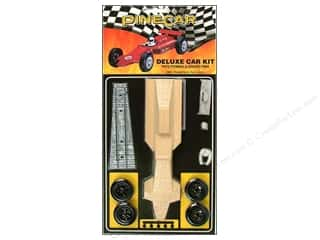 PineCar Crafts with Kids: PineCar Kits Deluxe Formula GrandPrix