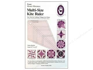 Quilting Rulers: Marti Michell Ruler Multi Size Kite