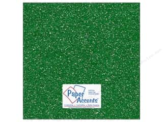 Stock Up Sale Sulyn Glitter: Cardstock 12 x 12 in. Glitz Silver/Fairway (25 sheets)
