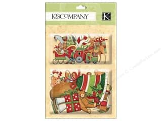 K&Co Layered Accents SW Glad Tidings Sleigh & Deer