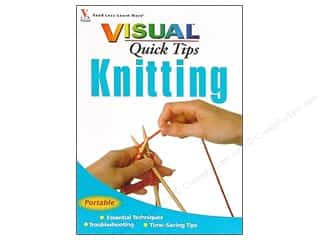 knitting books: Visual Quick Tips Knitting Book