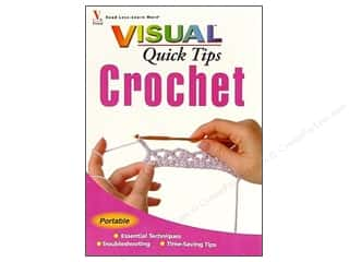 crochet books: Visual Quick Tips Crochet Book