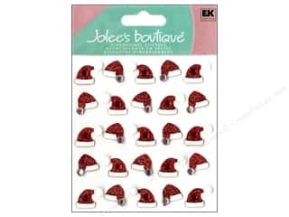 Jolee&#39;s Boutique Stickers Repeats Santa Hats