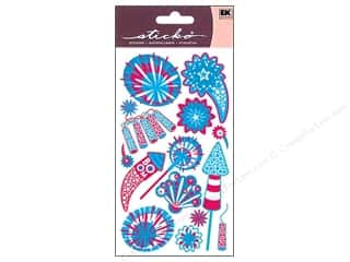 EK Sticko Stickers Metallic Rockets And Fireworks