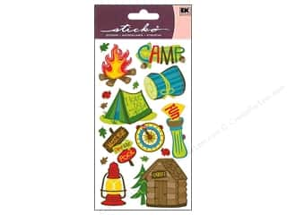 Everything You Love Sale Scrapbooking: EK Sticko Stickers Camping Fun