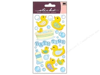 Toys Stickers: EK Sticko Stickers Vellum Bath Time