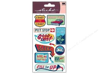 EK Success Vacations: EK Sticko Stickers Coast To Coast