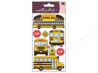 EK Sticko Stickers School Bus