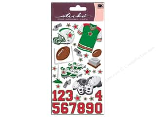 Shoulder Pads: EK Sticko Stickers Football Gear