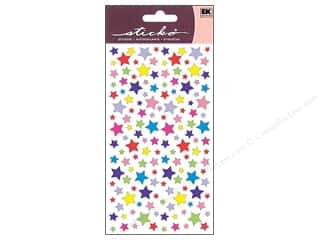 EK Sticko Stickers Metallic Shimmery Stars