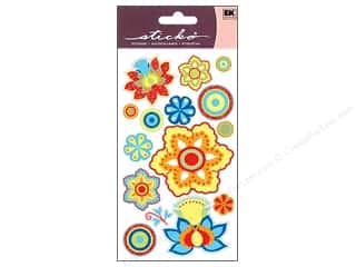 Summer: EK Sticko Stickers Summer Paisley