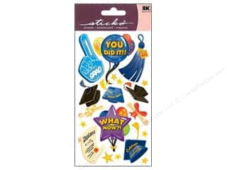 Back To School EK Sticko Stickers: EK Sticko Stickers You Did It!