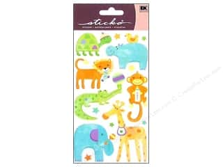 EK Sticko Stickers Playful Baby Animals