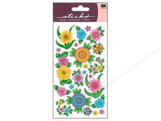 Gardening & Patio EK Sticko Stickers: EK Sticko Stickers Flores