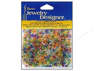 Toys Clear: Darice Beads Jewelry Designer Seed 10/0 Transparent Multi