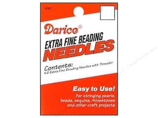 Darice Beading Needle With Threader 6pc