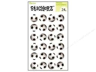 "Stickers 24"": Darice Sticker Soccer Ball 24pc"