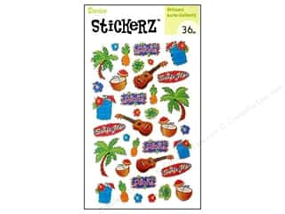 Darice Stickers: Darice Sticker Aloha Surfs Up 36pc