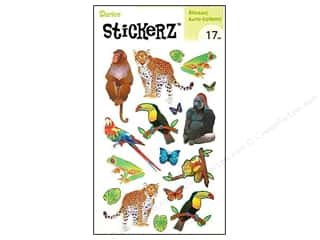 "Darice Sticker 5""x 8"" Jungle Animals"