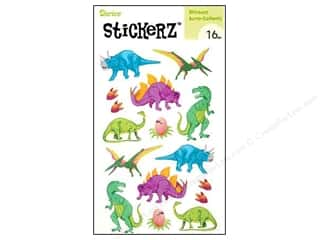 Darice Sticker Dinosaur 16pcs