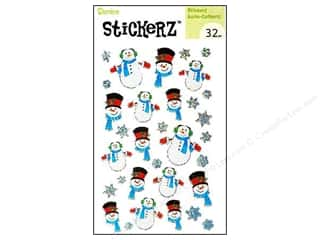 Kids Crafts paper dimensions: Darice Sticker Snowman 32pc