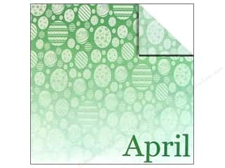 Patterns Easter: Scrappin Sports Paper 12x12 Calendar April (25 sheets)