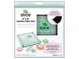 Slice by Elan Slice Accessories: Making Memories Slice Hands Free Mat 6 x 6  in. Blue