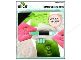 Making Memories Gifts & Giftwrap: Making Memories Slice Embossing Tips with Wrench
