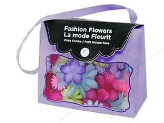 Imaginisce Flowers Fabric Fashion Brights
