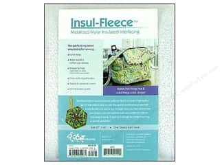 Polyester batting: C&T Interfacing Insul-Fleece Craft Pack 27x45