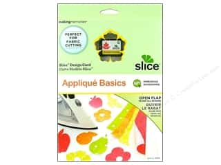 Making Memories ABC & 123: Slice Design Card Making Memories MS+ Applique Basics