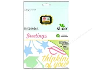 Making Memories Dies: Slice Design Card Making Memories MS+ Greetings