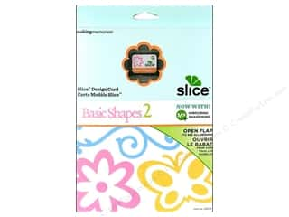 Making Memories Dies: Slice Design Card Making Memories MS+ Basic Shapes 2