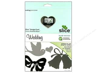 Making Memories Dies: Slice Design Card Making Memories MS+ Wedding