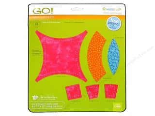 AccuQuilt Go! Die Double Wedding Ring 2- Die Set