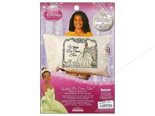 Crayons: Janlynn Disney Pillowcase Kit Color Tiana
