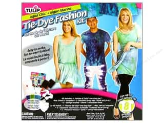 Sponges $8 - $18: Tulip Tie-Dye Fashion Kit Aqua Chic