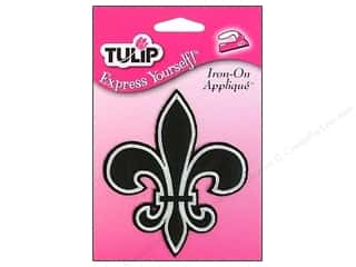 Tulip Iron On Applique Medium Fleur De Lis