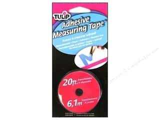 Measuring Tapes/Gauges: Tulip Adhesive Measuring Tape 20 ft.
