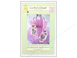 Quilted Baby Ballet Shoes Pattern