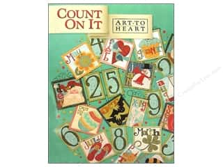 Books & Patterns ABC & 123: Art to Heart Count On It Book by Nancy Halvorsen