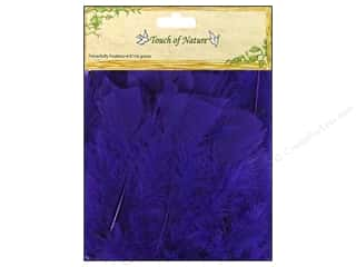 "Midwest Design Imports 14"": Midwest Design Feather Turkey Flat 4-6"" Purple 14gm"