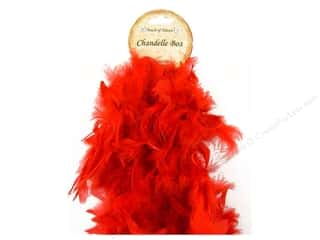 Midwest Design Boa Chandelle Red 2yd