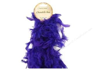 Midwest Design Boa Chandelle Purple 2yd