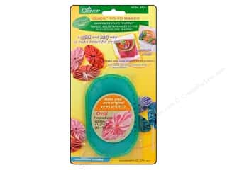 "Clover Quick YoYo Maker Oval Shape Small 1.25""x 2"""